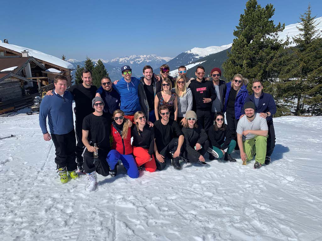 parcelLab goes skiing