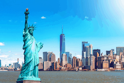 New York City United States of American Statue of Liberty