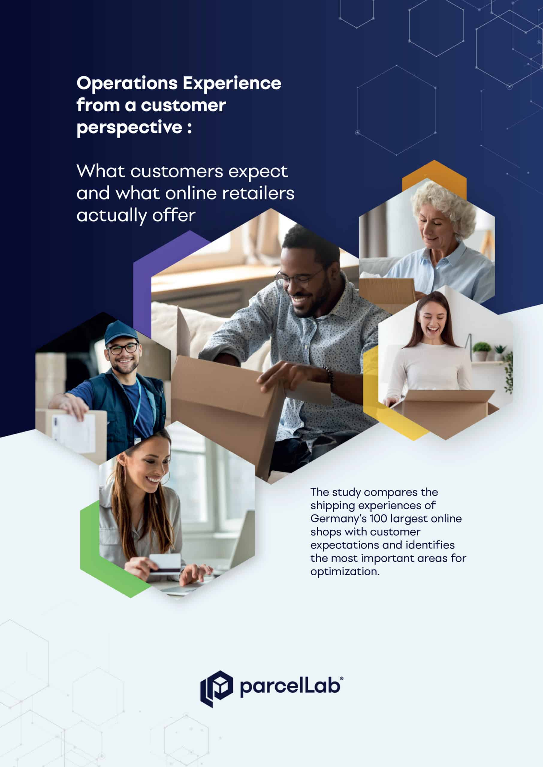 parcellab personalized consumer experience study of people unboxing packages