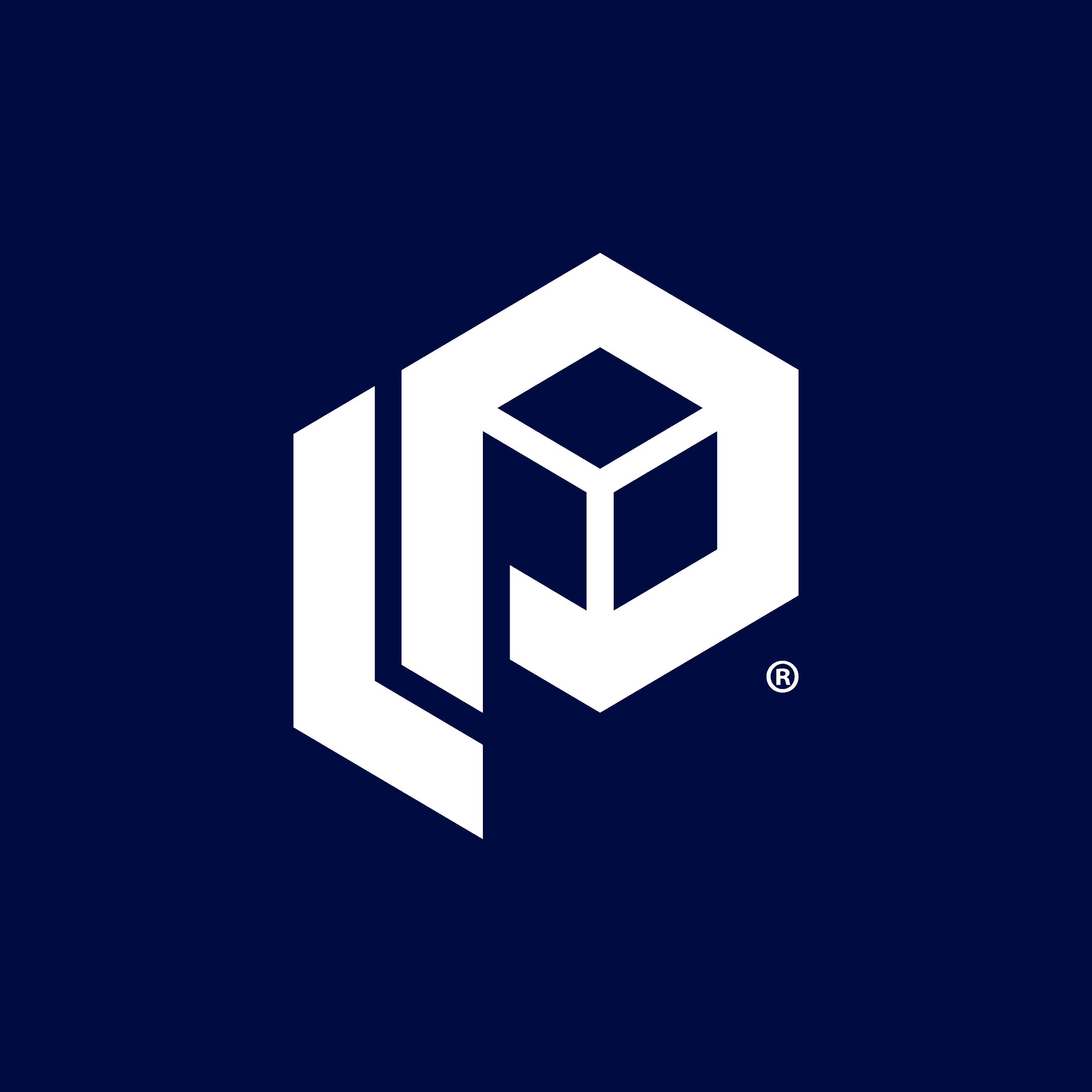 parcellab logo icon infront of blue background