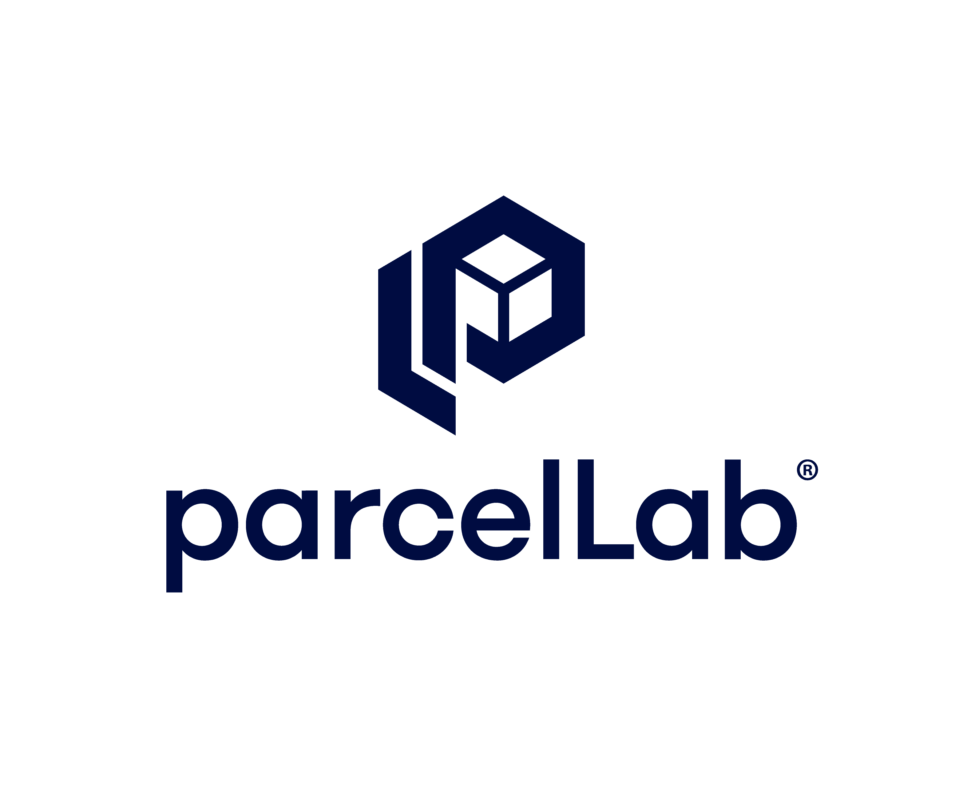 parcellab logo icon with name vertical