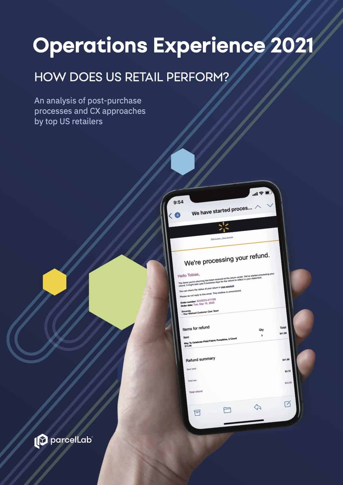 parcellab post purchase customer experience logistics infographic 2019