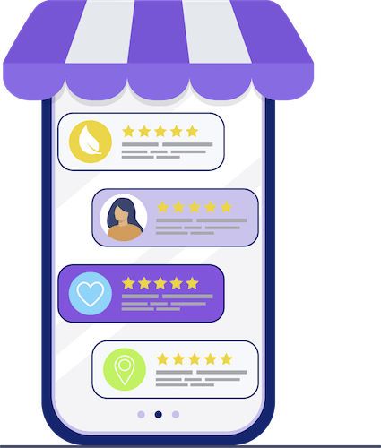 Phone reviews Icon